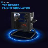 Wholesale 720° Virtual Reality Flight Simulator With Motion Control / Full-Digital Servo System from china suppliers
