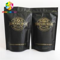 Wholesale Plastic zipper Bottom Gusset Bags 500g stand up resealable coffee ziplock pouch from china suppliers