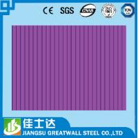 Quality Oil Paint PE PVDF HDP SMP Zinc Metal Roofing Corrugated Steel Sheets for sale