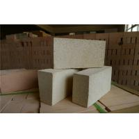 Quality Low Bulk Density Insulating High Alumina Brick High Temperature Refractory Bricks for sale