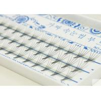 Buy cheap 1 Set 6/8/9/10/11/12/13 mm Real Eyelash Extensions 0.07 C Curl 3D Individual Mink Eyelashes from wholesalers