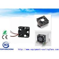 Quality Computer Case Cpu Cooling Fan High Speed 12000rpm , DC Axial Motor Mini Size for sale