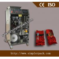 Wholesale Pyramid Loose Tea Bag Packing Machine with Outer Vacuum Envelope triangle tea bag packing machine from china suppliers
