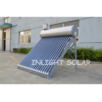 Wholesale Silver Fluorocarbon (PVDF) Plate100-300L Low Pressure Vacuum Tube Solar Solar Geyser from china suppliers