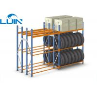 Wholesale Material Stock Heavy Duty Storage Racks Steel / Wood Shelves Convenient Stock from china suppliers