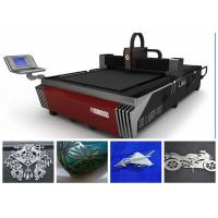 Quality 400W 500W 1KW 2KW Fiber Laser Cutting Machine , Sheet Metal Laser Cutter for sale