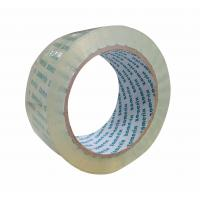 Quality Beautiful Clear Packing Tap , Single Sided Self Adhesive Custom Packaging Tape for sale
