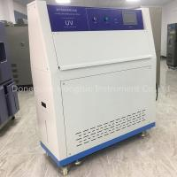 Wholesale Safety Environmental Testing Chamber Accelerated Aging UV Weathering Tester For Rubber , Plastic , Leather And Cloth from china suppliers