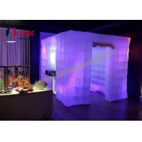 Buy cheap Inflatable Wedding Decorations Inflatable Photo Booth LED Event Lighting from wholesalers