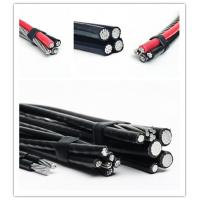 Wholesale 120 Volt Aerial Service Aluminum Overhead Power Cables Quaduplex Cores from china suppliers