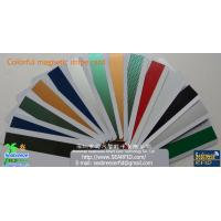 Wholesale Colorful magnetic stripe card,gold,silver,green,blue,red,laser magnetic stripe card from china suppliers