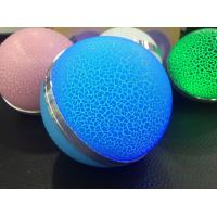 Wholesale Mini circular Wireless USB Player Speaker With seven Colorful lights from china suppliers