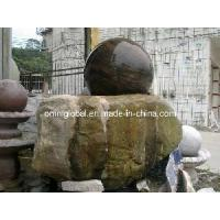 Wholesale Round Fountain With Natural Rock Base from china suppliers
