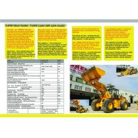 Buy cheap Forklift loader XJ976H 27 tons with quick-couple from wholesalers