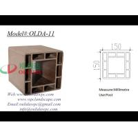 Buy cheap wood plastic composites OLDA-11 150*150mm from wholesalers