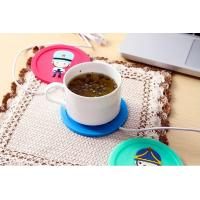 Wholesale Newfangled USB Heated Silica Gel Tea Saucers Home An Ultra Assistant Heat Insulation Cup M from china suppliers