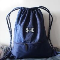 Buy cheap Custom Printed Unique Reusable String Sports Nylon Drawstring Bag from wholesalers