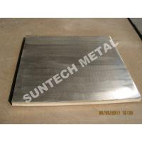 Buy cheap Aluminum and Stainless Steel Clad Plate Auto Polished Surface treatment from wholesalers