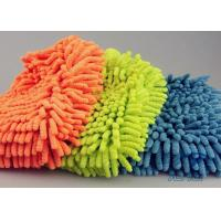 Wholesale Easy Auto Care Microfiber Ultra Detersive Sponge Compounded Chenille Car Wash Glove from china suppliers