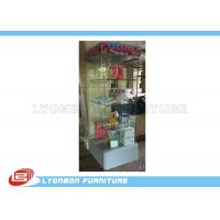 Wholesale Glass gift display cabinet with LED light customized for retail shop from china suppliers