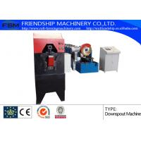 Buy cheap Color Steel Round Down Pipe Roll Forming Machine With PLC Control from wholesalers