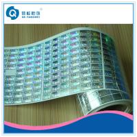 Wholesale Customized Roll Stickers , Clothing / Beverage Anti Counterfeiting Labels from china suppliers