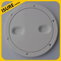 Wholesale boat plastic deck plate/marine hardware/ Round Deck Plate from china suppliers