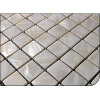 Wholesale 6MM thickness white mother of pearl mosaic from china suppliers