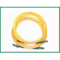 Wholesale E2000 / APC Connecoter Single Mode Fiber Patch Cord / Simplex Patch Cord from china suppliers