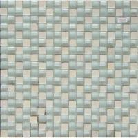China Polished Porcelain Tile White Stone Mosaic (BX1501) on sale
