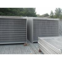 Wholesale temporary fence panels 2100mm*2400mm chain link wire and weld wire temp wire fence from china suppliers