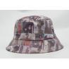 Buy cheap Printint Logo Waterproof Fishing Bucket Hat 100% Cotton PU Leather Fabric from wholesalers