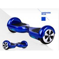 Wholesale 2 Wheel Power Scooter , 6.5 Inch Motorized 2 Wheel Scooter Blue from china suppliers