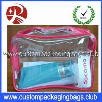 Wholesale Clear Promotional Waterproof Cosmetic/Make Up PVC Custom Packaging Bag,PVC Cosmetic Bag from china suppliers