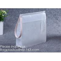 Wholesale Vinyl Document Newspaper File Pen Zipper Bags,Coin Bag Pvc Slider Zipper Waterproof Pouch Bag, Ecofriendly Non-toxic from china suppliers
