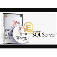 Quality Brand New Microsoft Windows SQL Server OEM Box Full Version With 15 User Cals for sale
