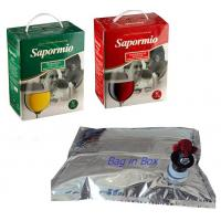 Wholesale Grape 3 Litre Foil Bib Bag In Box 4 Layers Material Bag In Box Bags from china suppliers