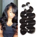 Wholesale Natural Black 7A Peruvian Body Wave Virgin Hair Bundles No Terrible Smell from china suppliers