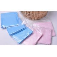 Wholesale Pink Blue Anti - Fouling Oil Disposable Plastic Bibs Apron For Medical Devices from china suppliers