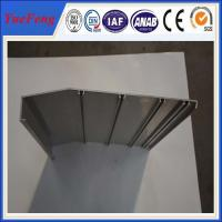 Wholesale aluminium framing material manufacturer/ 6063 aluminium alloy profile for working flatform from china suppliers