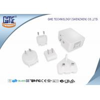 Wholesale 5V Wall Mount Power Plug Adapter  4.8A Wall Charger with Dual USB Charging Ports from china suppliers