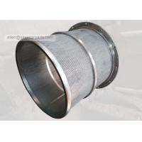 Wholesale stainless steel 304ss pressure screen hole basket for pulp mill from china suppliers