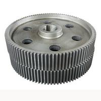 Wholesale Professional Marine Steel Spur Gears , Heavy Duty Machine Parts Gears from china suppliers