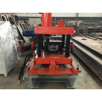 Quality PLC Control C Purlin Roll Forming Machine / Z Section Stud Roll Forming Machine for sale