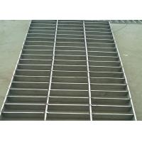Wholesale Stainless Steel Heavy Duty Steel Grating , Round Bar 25 X 5 SS Floor Grating from china suppliers