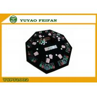 Wholesale Octagon Foldable Poker Table Top Texas Holdem Poker Table For Family Party from china suppliers