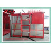 Quality High Duty Personnel And Materials Hoist / Construction Site Elevator 2 Ton Capacity for sale
