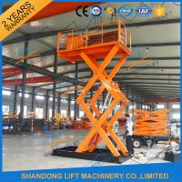 Wholesale CE TUV 2T Stationary Hydraulic Scissor Lift from china suppliers