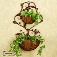 Buy cheap wall hanging flower planters plants rack from wholesalers