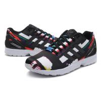 Adidas ZX Flux Graphic 25 Years ZX Flux Lightning Running Shoes Black Sports Shoe Free Shipping Thunder Pattern